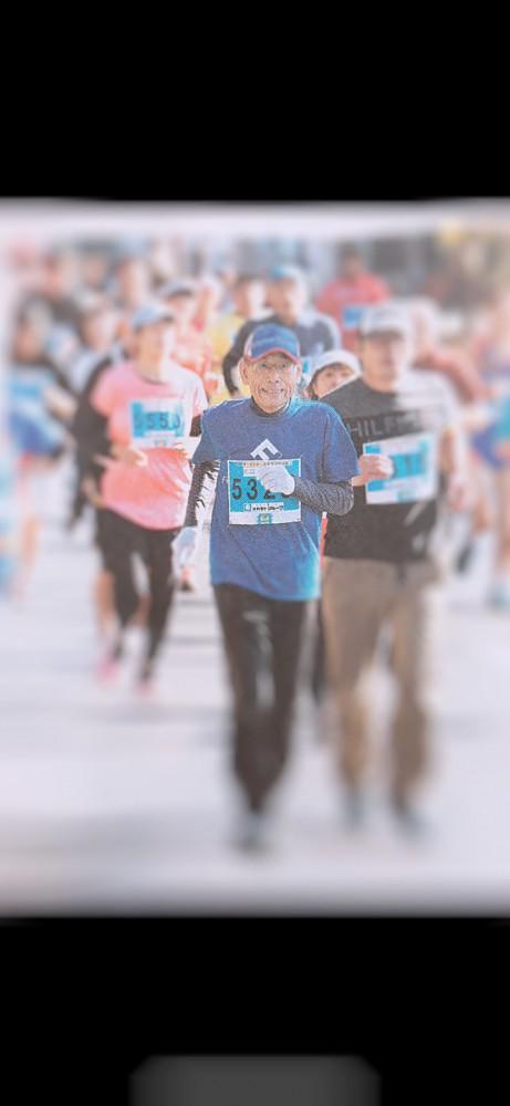 明日、走ります。