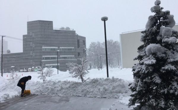 大雪警報発令中っ!