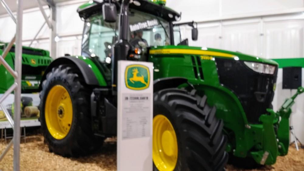 国際農業機械展に行ってきました