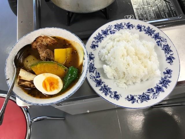 北海道ならスープカレー!