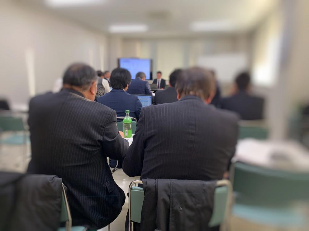 経営会議。